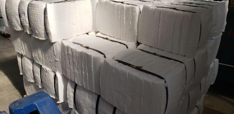 Fábrica de módulos de fibra cerâmica