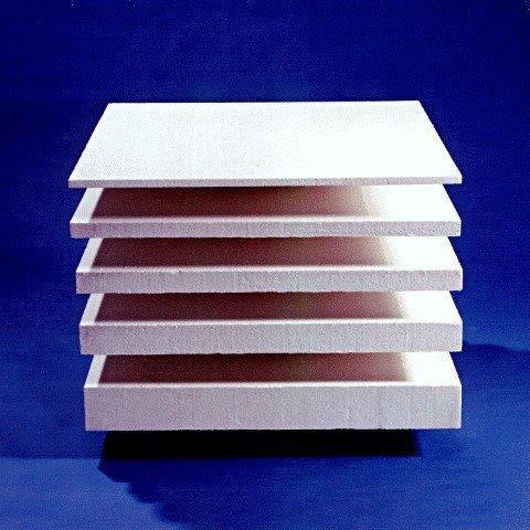 Placas de fibra cerâmica