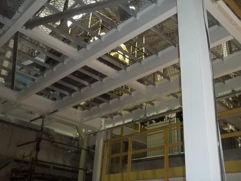 Proteção passiva estrutura metálica