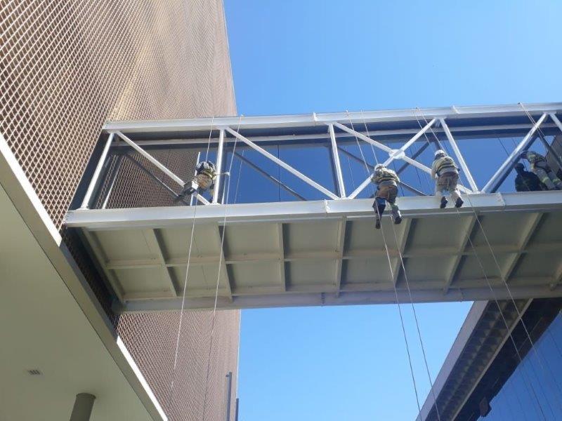 Proteção passiva contra fogo estruturas metálicas