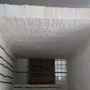 Isolamento térmico forno